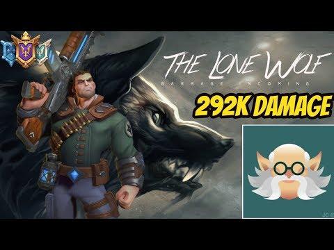 Crazy 292K Damage Viktor Game ( PRO PALADINS)
