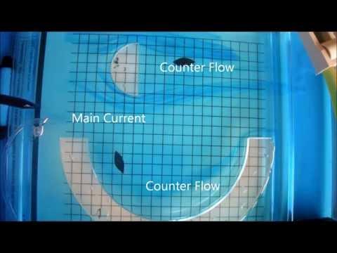 River Currents & Eddy Currents