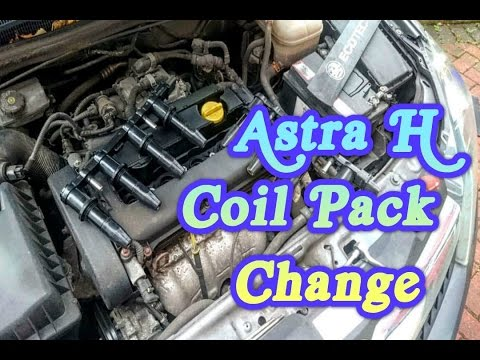 Vauxhall Astra Opel Ignition Coil Pack Change YouTube