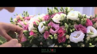 Оформление свадьбы живыми цветами(, 2016-04-15T06:38:26.000Z)