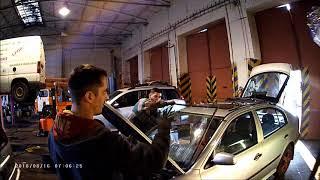 Výměna čelního okna Škoda Octavia