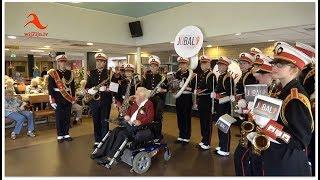 Hardenberg: Jubal Vechtdal brengt serenade aan 100-jarige