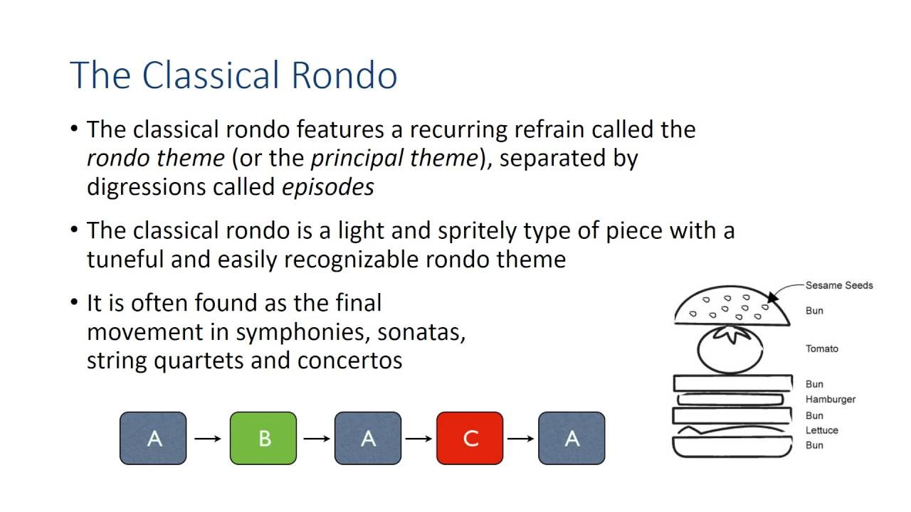 Rondo Form - YouTube
