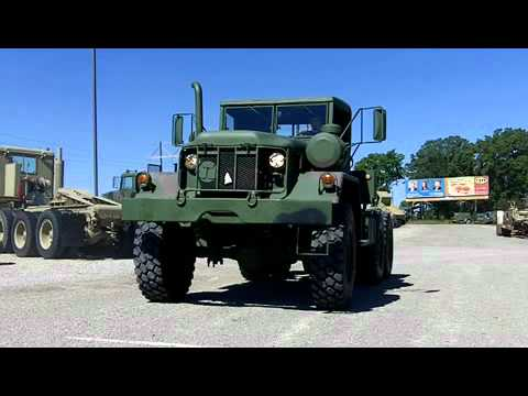 Semi Tractors For Sale >> M818 5 Ton 6x6 Military Tractor Truck - YouTube