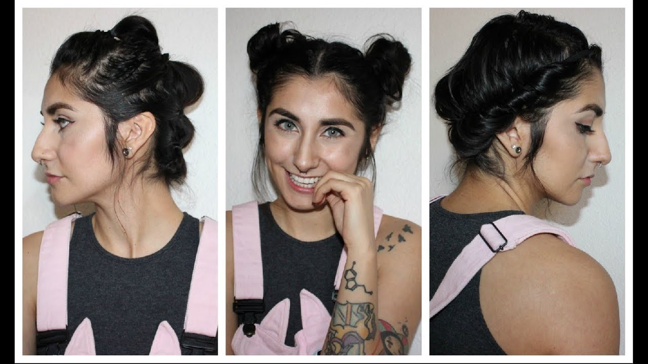 easy gym/workout hairstyles for short hair
