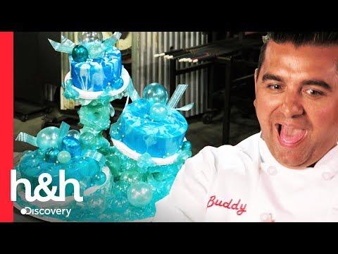 Um bolo de vidro | Cake Boss | Discovery H&H Brasil