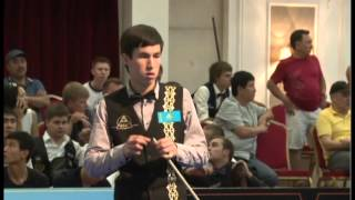 Чемпионат Мира 2013:  Омаров - Крыжановский(Русский бильярд., 2015-10-28T07:09:54.000Z)