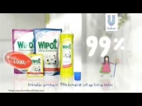Iklan Baru Wipol Pembersih Lantai Ultra Protection