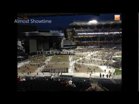 Matrax Inc. Field Protection System - Madonna - Yankee Stadium