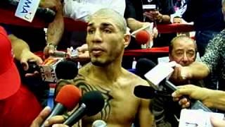 Puerto Rican superstar Miguel Cotto Part 1 - 2009-11-04