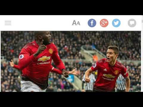Newcastle United 0 - 2 Manchester United