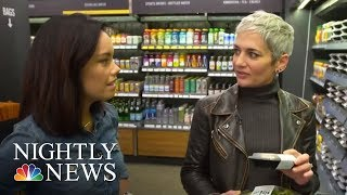 Inside Amazon's High-Tech Grocery Store | NBC Nightly News
