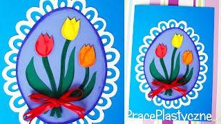 Jak zrobić kartkę z tulipanami?