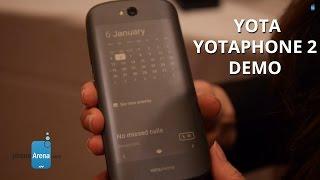 Yota YotaPhone 2 demo