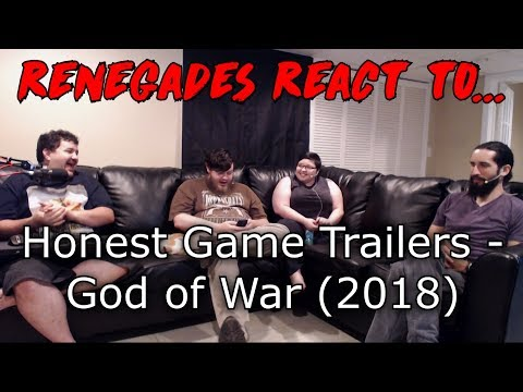 Renegades React to... Honest Game Trailers - God of War (2018)