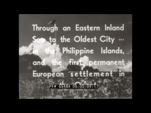SCREEN TRAVELER  1930s VISIT TO THE PHILIPPINES  MANILA, CEBU, MACTAN  65484