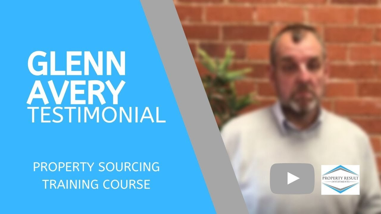 Glenn Avery Testimonial - Property Sourcing Training Course