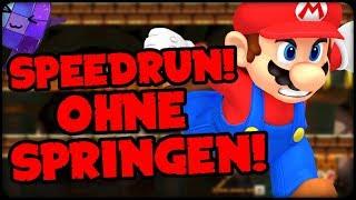 DON'T JUMP SPEEDRUN! ⭐️Super Mario Maker Online Deutsch #386