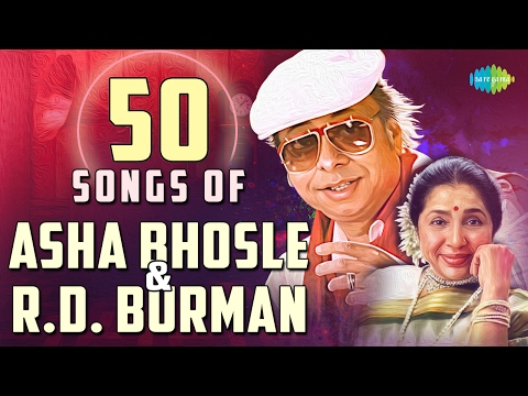 Top 50 songs of R.D. Burman & Asha | आशा - बर्मनके 50 हिट गाने | HD Songs | One Stop Jukebox
