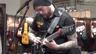 Andy James (Musikmesse 2015)