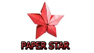 ORIGAMI STAR - How to make a paper star