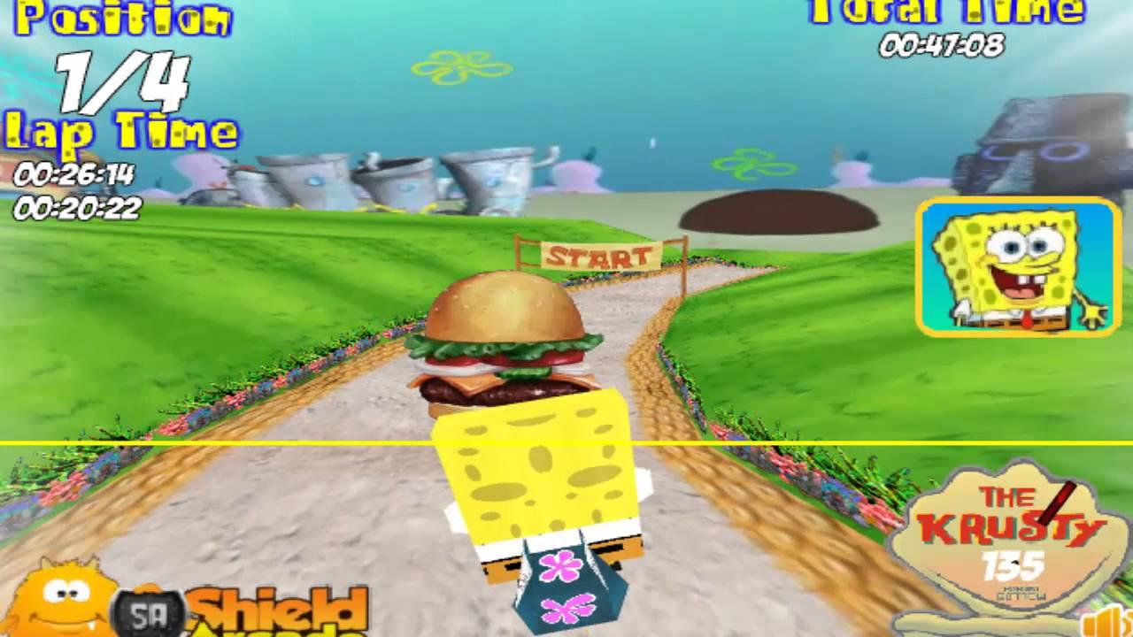 كرتون سبونج بوب سكويربانتس لعبة سباق سبونج بوب Pikachu Cartoon Character