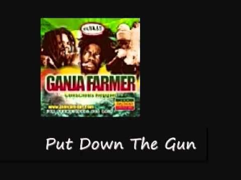 Marlon Asha Beenie Man Put Down The Gun Ganja Farmer Riddim