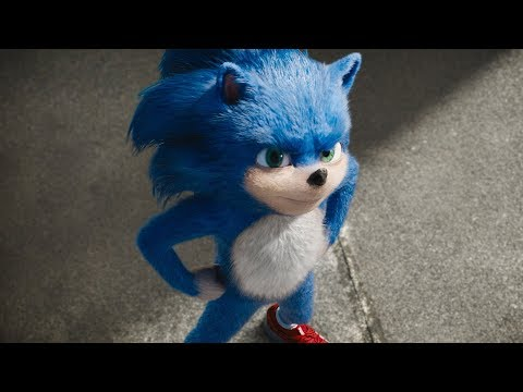 Sonic The Hedgehog Trailer Old Youtube