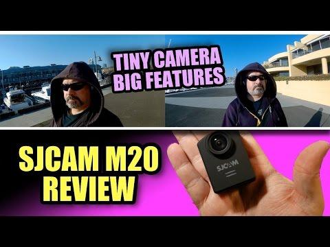 Tiny Action Cam, BIG Features - SJCAM M20 Review