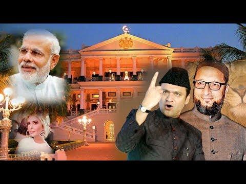 AIMIM Akbaruddin Owaisi Superb Reply Modi & Ivanka Trump For Visit To Falaknuma, Hyderabad | AIMIM |