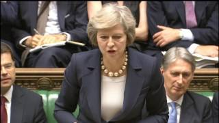 Theresa May's first PMQs: 20 July 2016