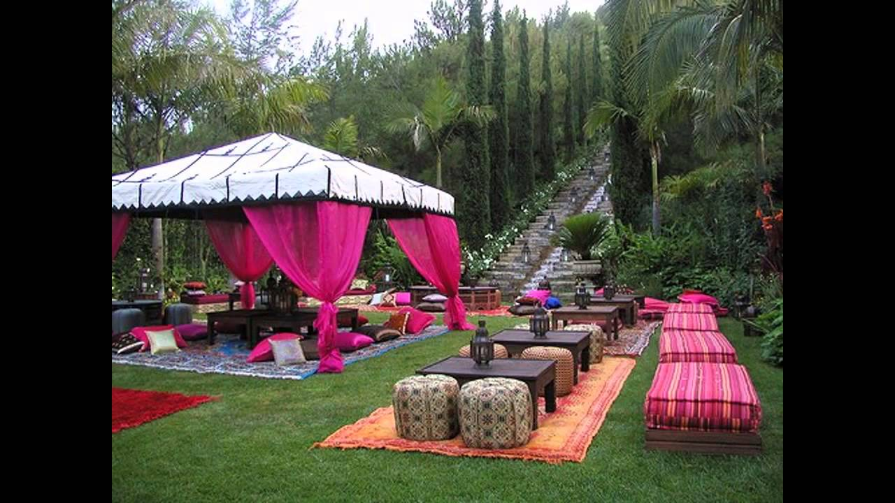 Fascinating Outdoor birthday party decorations ideas - YouTube on Backyard Decor  id=57387