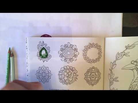Johanna Basford Ivy & the Inky Butterfly - basic gemstones