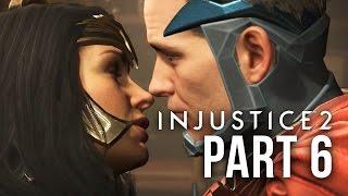 INJUSTICE 2 STORY MODE Gameplay Walkthrough Part 6 - Chapter 7&8 - CAT WOMAN & WONDER WOMAN