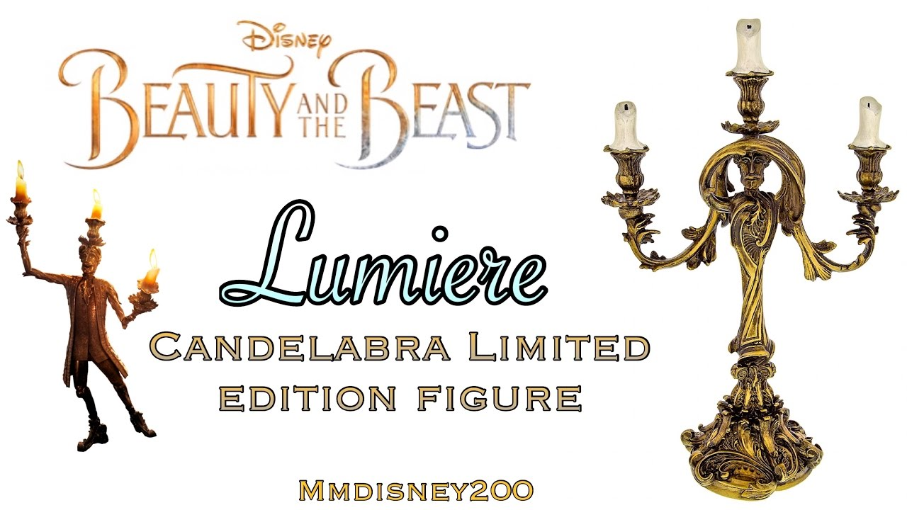 Lumiere Candelabra Limited Edition Figurine Live Action