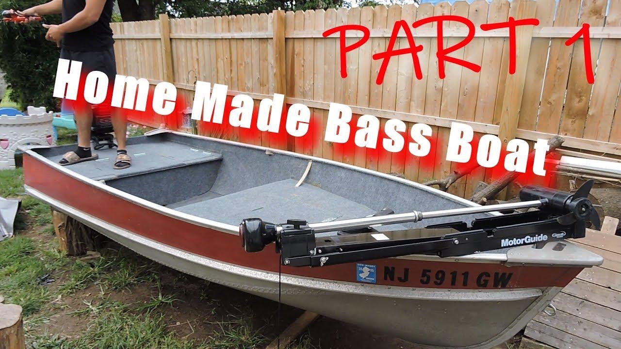 Bass Boat Conversion Start To Finish Youtube