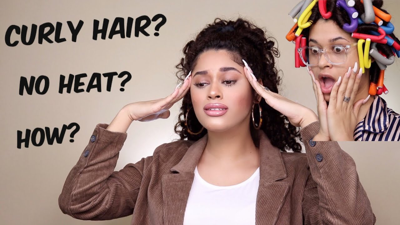 how to get really tight curls without heat