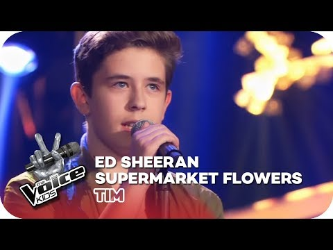 Ed Sheeran - Supermarket Flowers  (Tim) | Blind Auditions | The Voice Kids 2018 | SAT.1