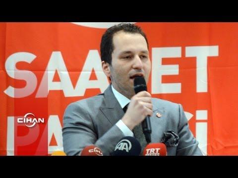 Fatih Erbakan, Saadet Partisi genel başkanlığına adaylığını açıkladı