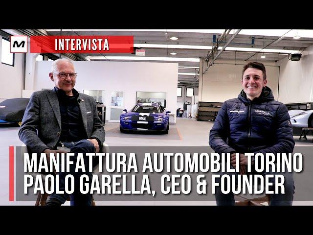 Manifattura Automobili Torino | Intervista all'Ing. Paolo Garella (New Stratos, Aspark Owl)