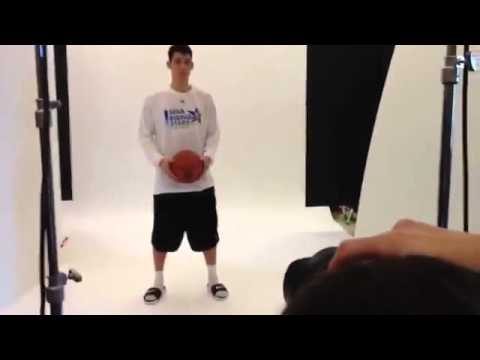 Jeremy Lin and Landry Fields at Photoshooting