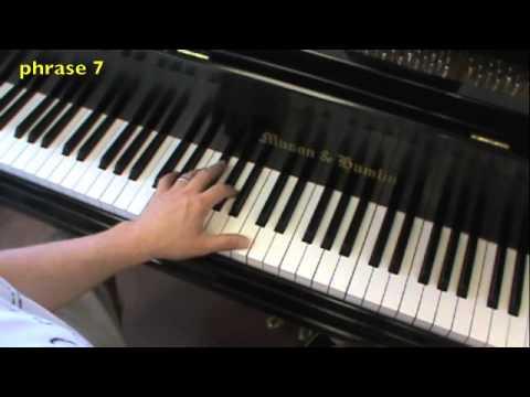 Pachelbel Canon in D piano lesson