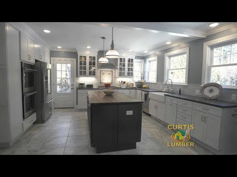 Open Airy Kitchen In Albany Ny By Curtis Lumber Kitchen Designer Kathleen W Youtube