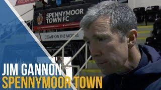 Jim Gannon Post-Match Interview - Spennymoor Town
