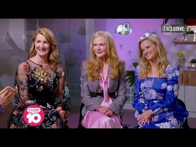 Exclusive: Nicole Kidman, Reese Witherspoon & Laura Dern Talk Big Little Lies 2 | Studio 10