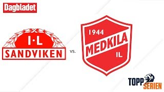 Sandviken vs Medkila full match
