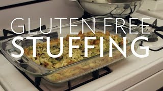 Thanksgiving Recipe Gluten Free Stuffing | Broke But Bougie
