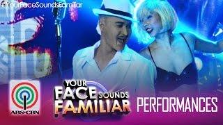 """Your Face Sounds Familiar: Tutti Caringal as Lou Bega - """"Mambo No. 5"""""""