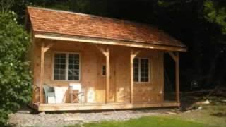 Jamaica Cottage Shop - 16x20 Vermont Cottage Kit