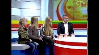 CTV.BY: Многодетный отец Эдуард Корнейчук: так ли легко воспитать «папиных дочек»?